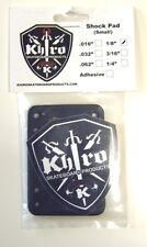 "KHIRO Almohadillas de tubo 1/8"" - 3mm Suave Longboard Skateboard Minicruiser"
