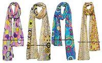Indien Femme Cou Enveloppe Coton Foulard Hijab à Pois Étoles Écharpes Grand