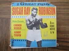 2 GREAT FIGHTS - SUGAR RAY ROBINSON - MAIN EVENTS - 8MM - SP-62