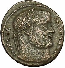 LICINIUS I Constantine the Great enemy Ancient Roman Coin Success Wreath i40377