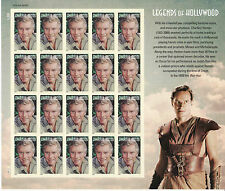 CHARLTON HESTON STAMP SHEET -- USA #4892 FOREVER, 2014 LEGENDS OF HOLLYWOOD