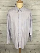 Mens Tommy Hilfiger Oxford Shirt - Size XL - Striped - Great Condition