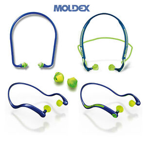 Moldex Banded EarPlugs WaveBand Jazz-Band Pura band Ear Plugs & Replacement Pod