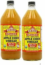 BRAGG APPLE CIDER VINEGAR 32 OZ X 2 BTLS