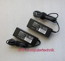 2 Stück ORIGINAL Toshiba 15V 75W PA3755E-1AC3 PA3755U-1AC3 PA3755E-1AC3 Netzteil