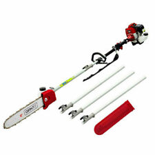 Giantz PCAW-SXTO-RD 62cc Petrol Pole Chainsaw with Cutter Extensions - Red