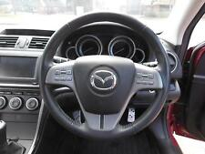 MAZDA 6 STEERING WHEEL SILVER SPOKE, HAS AUDIO,HAS CRUISE TYPE, GH, 02/08-11/12