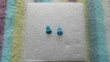 New Cute Funky Unique Cheeky Smiley Blue Poop Resin Anti-Allergy Studs/Earrings