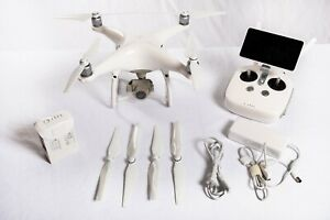 DJI Phantom 4 Pro Plus with 2 sets props, 1 battery, remote control with screen