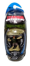 Spider-Man 3 Die-Cast Metal Titanium Sandman Figure MIB Galoob Toy Micro