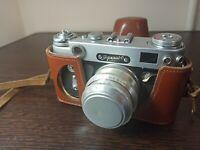 """RUSSIAN USSR """"ZORKI 6"""" camera + INDUSTAR-50 LENS, f3.5/50mm (7)"""