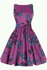 Elsies soffitta Lady V LONDON Vintage Retrò Rockabilly dress UK12 Blogger preferita