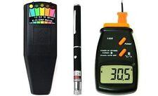 Ghost Hunting K-II K2 Meter EMF Detector + LCD Thermometer + Laser Grid Pen 3KIT
