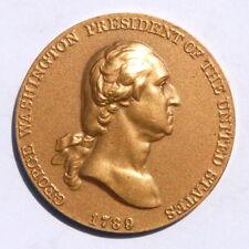 "1789 George Washington President of the USA ""Time Increases His Fame"" Token"