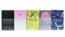 Versace for Women Perfume Miniature Collection Splash 0.17 oz - 5 pc Gift Set
