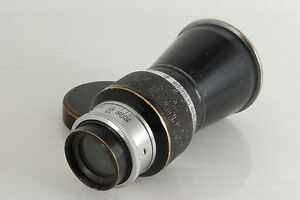 Very Rare!! Leica f/6.3 10,5 cm Mount Elmar from Japan