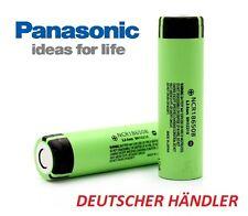 Panasonic Lithium Ionen Akku NCR18650B 3,6 - 3,7V  3400mAh - 6,2 A Entladestrom