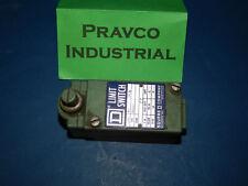 Square D 9007-B62B2 Limit Switch Serial A 10Amps 120-600 VAC Pilot Duty 720VA
