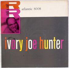 IVORY JOE HUNTER: Rock & Roll US Atlantic 8008 DG '57 Orig R&B Vinyl LP HEAR