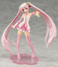 Anime VOCALOID Sakura Hatsune Miku 1/8 Scale Painted Figure Figurine 18cm  loose