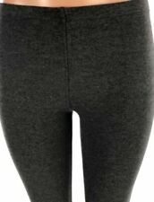 NWT Women's Charcoal LADY HATHAWAY Comfort French Terry Leggings Size Small S