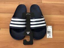 Adidas Performance Men's Duramo Slide Sandal Navy Blue White Size 11