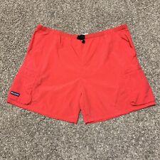 Vintage Columbia Mens Fishing Swim Shorts XXL 2XL Mesh Lined W/ Pocket