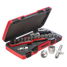 TENG TOOLS 1/2 DRIVE SOCKETS RATCHET EXTENSIONS TOOL SET