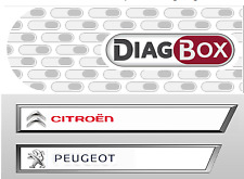 DIAGBOX 7.83 SOFTWARE DVD LEXIA 3 PEUGEOT PLANET-CITROEN DIAGNOSTIC PP2000 CAN