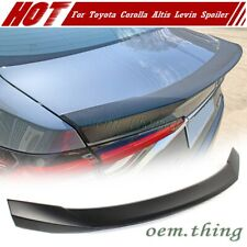 Painted ABS For TOYOTA Corolla Levin Altis 4D Sedan DTO Style Trunk Spoiler 19+