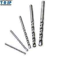 5PC Carbide Masonry Drill Bits Set, 4 5 6 8 10mm for Power Drilling Concrete