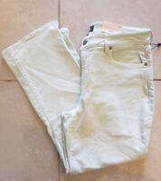 Womens NYDJ Not Your Daughters Marilyn Straight Tummy Tuck Stretch Jeans Size 12