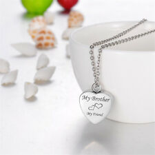 Cremation Jewelry Ashes Urn Pendant Keepsake Memorial Necklace Locket Relatives Brother