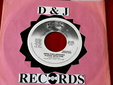 GREG PHILLINGANES~ PLAYIN WITH FIRE~ MINT~ RARE PROMO~ ~MODERN SOUL~ FUNK  45