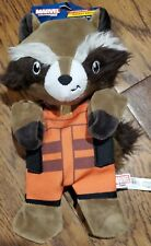 Marvel Guardians Of The Galaxy Rocket Raccoon Crinkle Plush Dog Toy NEW!