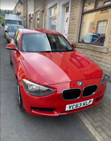 bmw 1 114d es  year 63 £20 pounds tax year eco sports comfort modes