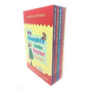 My Naughty Little Sister Series Collection Dorothy Edwards 5 Books Set NEW