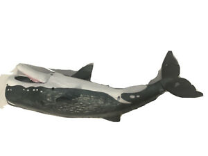 Toys R Us Chap Mei sperm whale Chompin  Angler Fish Figure Animal