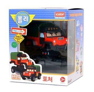 Robocar Poli Bad hunter POACHER Robot Transformer Car Toy Action Korean TV