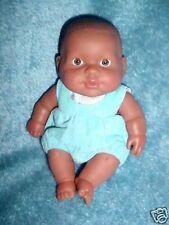"""8"""" LITTLE BLACK REBORN NEWBORN BABY BERENGUER TOY DOLL"""