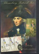 Famous People Postcard - Horatio Nelson - Bloomsbury Postcard Fair  T5550