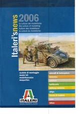 Italeri News 2006 Scale Plastic Kit Military Truck Models Catalogue