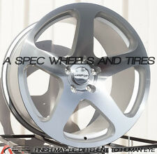 18x8.5 Varrstoen MK1 5x112 +45 Machined Wheel Fits audi a3 tt(MKII) gti MKV,MKVI