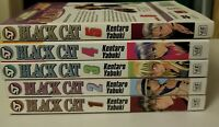 Black Cat Volume 1-5 Shonen Jump Manga
