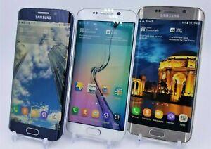 Samsung Galaxy S6 Edge GSM Unlocked - 32GB 64GB 128GB - Black Gold White *Shadow
