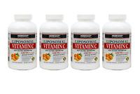 Liposomal Vitamin C - 2100mg 180 Veggie Capsules Fast Acting Absorption 4 Pack