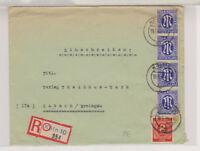 Bizone/AM-Post, Mi. 9z (4) MiF 917 Not-R-Köln 10 - Gutach, 18.6.46