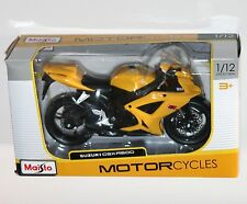 Maisto - SUZUKI GSX-R600 (Yellow) - Motorcycle Model Scale 1:12