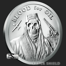 2017 Blood for Oil BU MiniMintage Silver Round IN STOCK! w/COA