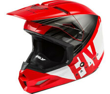 Fly Kinetic Cold Weather Snow Helmet Red Black White